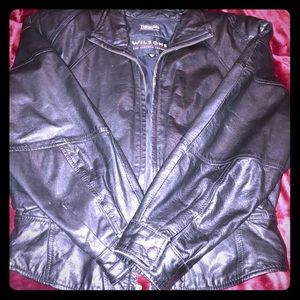 Wilson's Leather Jacket-WITH Thermal insulate!